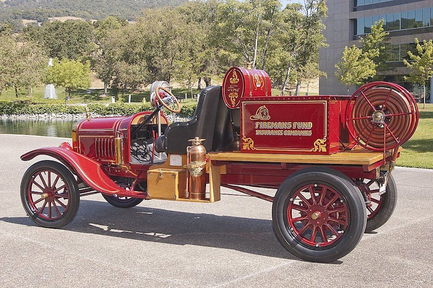 1923 Ford Model T, Novato FD - Marin County Fire History